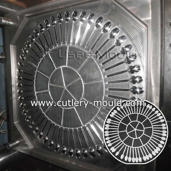 50 cavities spoon mould