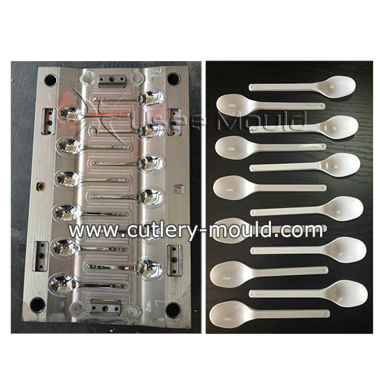 12 cavities spoon mould
