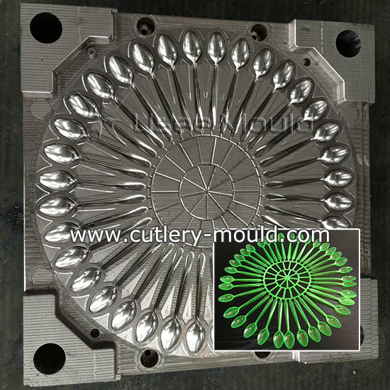 36 cavities spoon mould