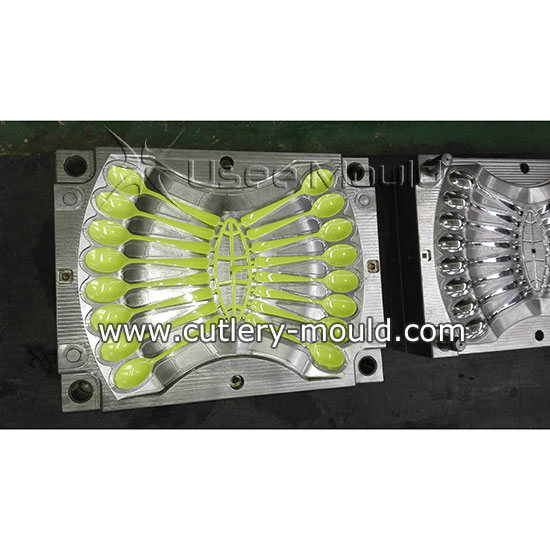 16 cavities spoon mould
