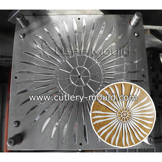 32 cavities knife mould