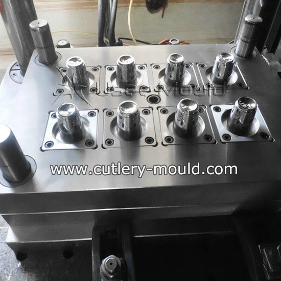 6 cavities small thinwall cup mould