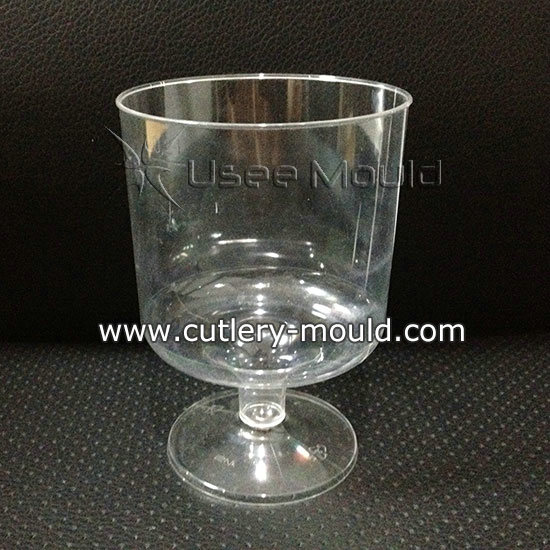 one cavity red wine cup mould