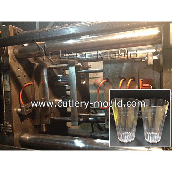two cavity cup mould