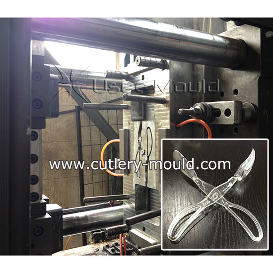 1+1 combined cutlery mould