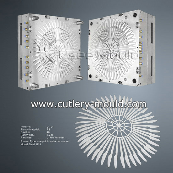 48 Cavities Knife Mould